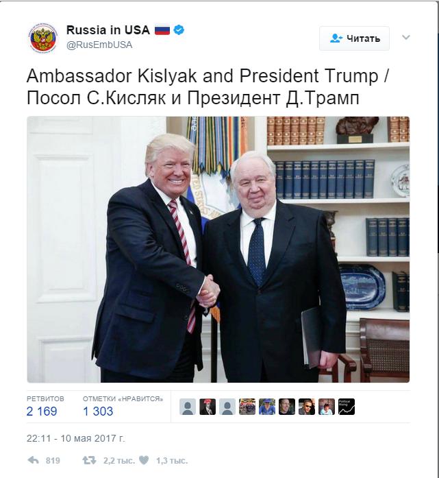 Сергей Кисляк, как ужас американских политиков