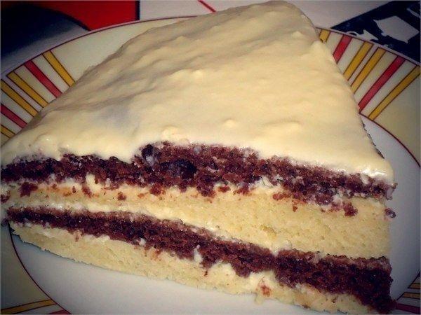Восхитительный тортик на кефире. Десерт, который достоин внимания!