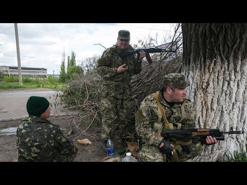 Фрагмент боя в Иловайске, когда укры последний раз пытались прорваться в город1