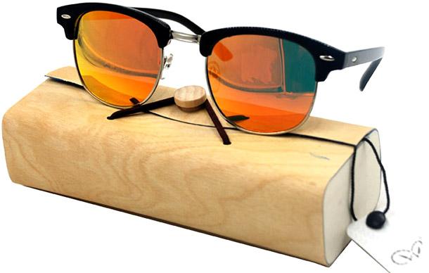 Модные цветные очки