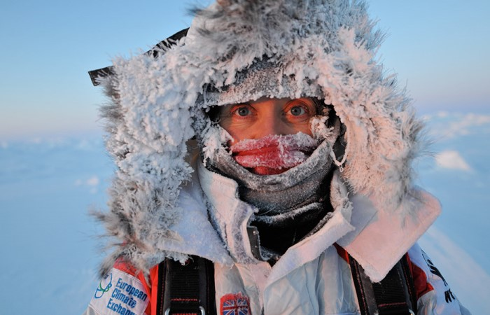 Зимой очень холодно.