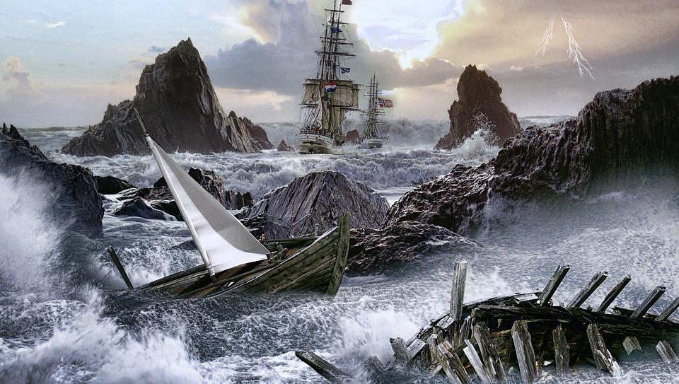 Затонувший корабль раскрыл с…