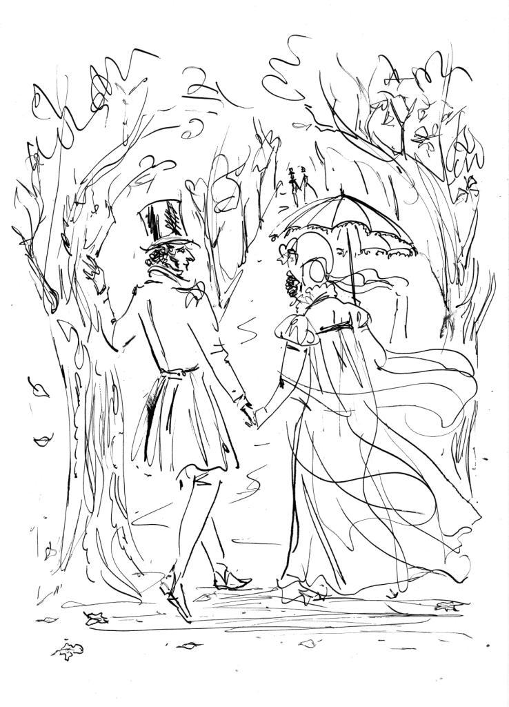 Несколько образцов романтической переписки Пушкина