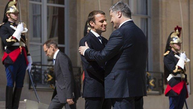Формулы Макрона. Фельетон на триумф Порошенко в Париже