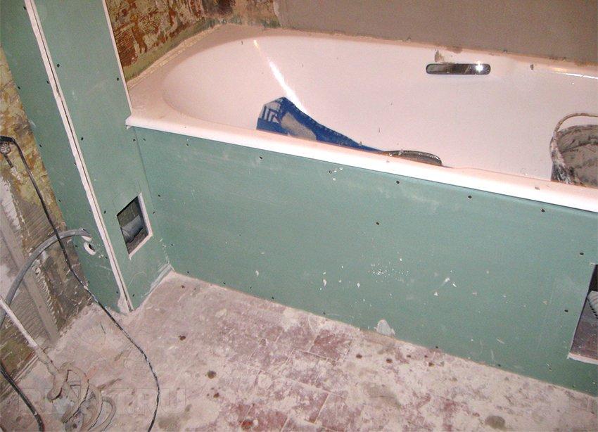 обшивка труб в ванной гопоскартоном последнее время интернете