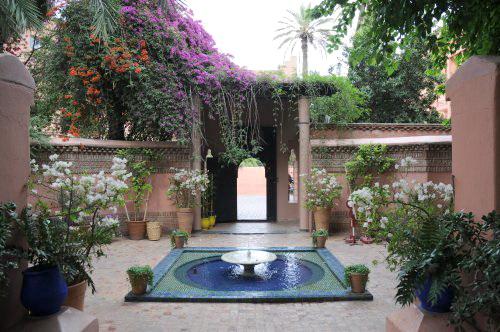 Марокко -  сад Мажорель