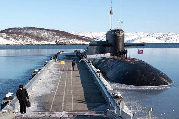 """Атомная подводная лодка """"Тула"""" готовится к возвращению в строй"""