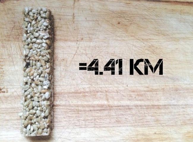 Сколько километров «стоят» вкусности