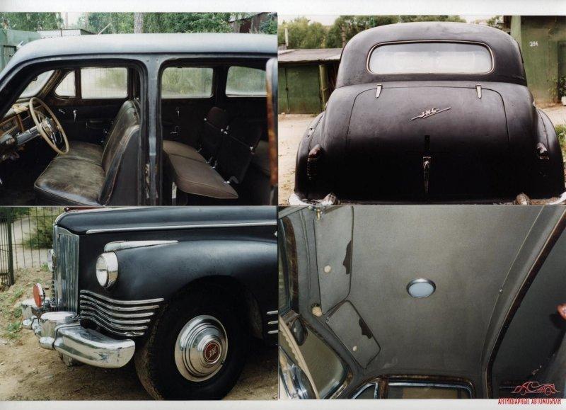 ЗИС-115: оригинальный не реставрированный автомобиль авто, восстановление, зил, зис, зис-115, олдтаймер, реставрация, сталин