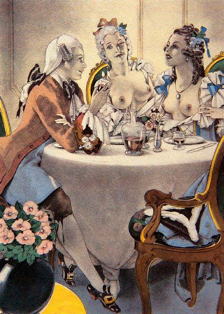 Итальянский иллюстратор начала XX века, который точно знал, что такое эротика