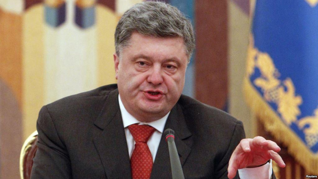 Порошенко: Донбасс будет возвращён только дипломатическим путём