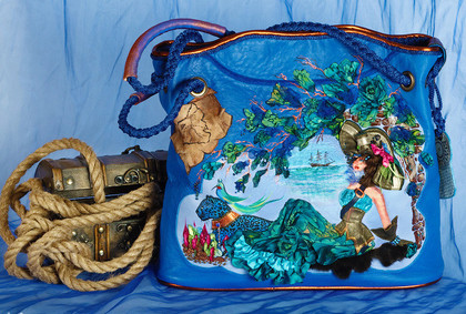 Женские сумки ручной работы. Ярмарка Мастеров - ручная работа Rachelle-Пиратка. Handmade.