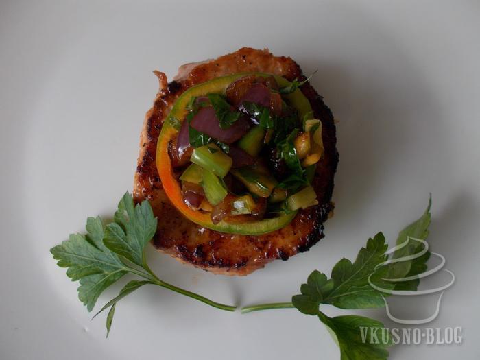 Простое и очень вкусное блюдо на ужин - медальоны из свинины