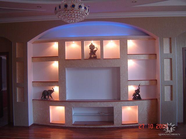 Мебель своими руками из гипсокартона фото