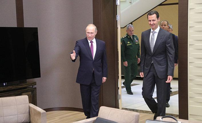 Vox, США: Омерзительный триумфальный круг Асада по России