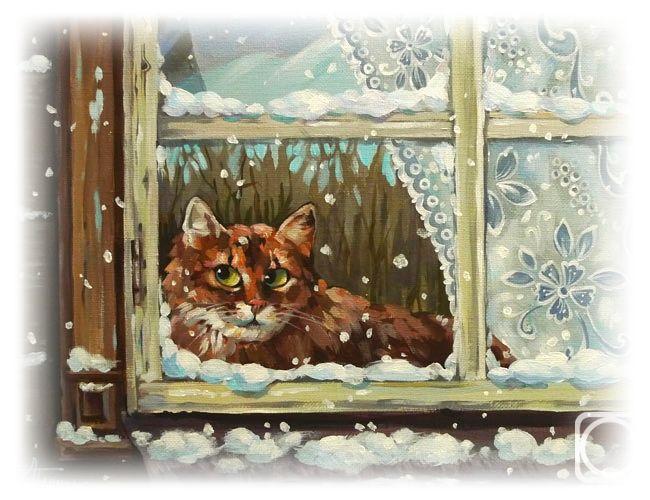 Зимняя сказка...     Александра Беденок