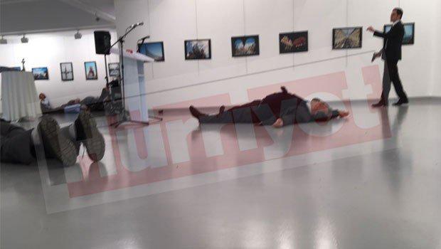 Тяжело ранен посол Российской Федерации вТурции Андрей Карлов