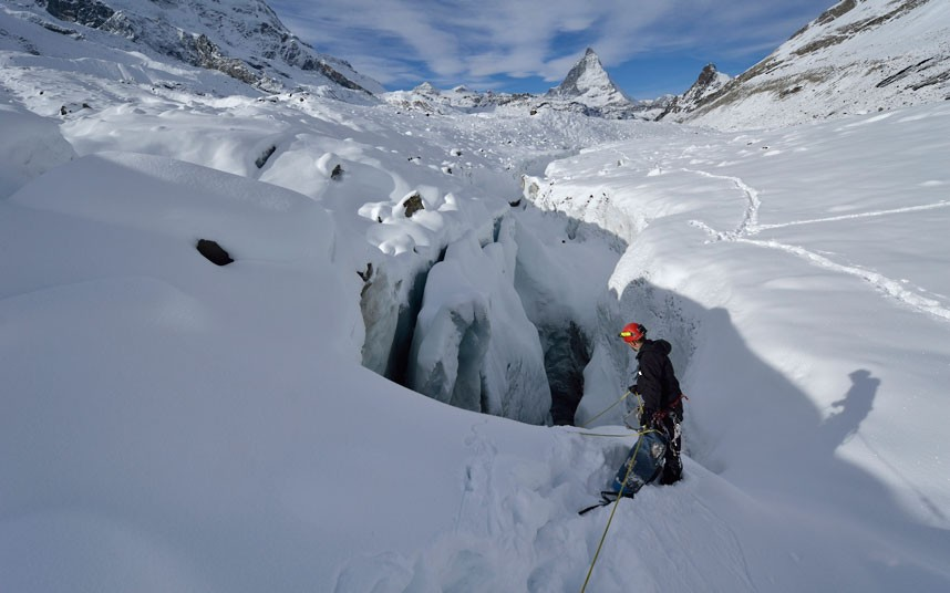 gorner 6 Ледяные пещеры ледника Горнер