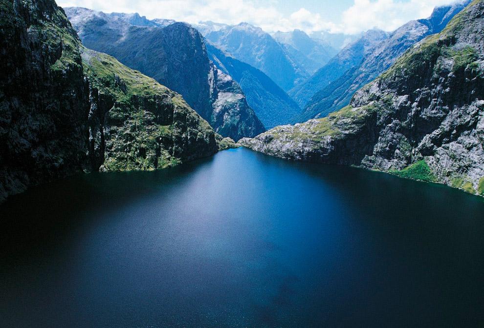 Водопад Сатерленд, Новая Зеландия