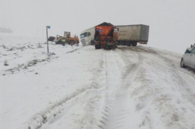 Столкновение более 40 машин произошло на юге Чехии