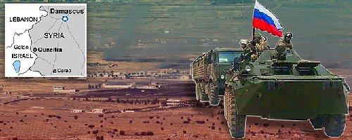 Российские войска в Кунейтра против воли Израиля