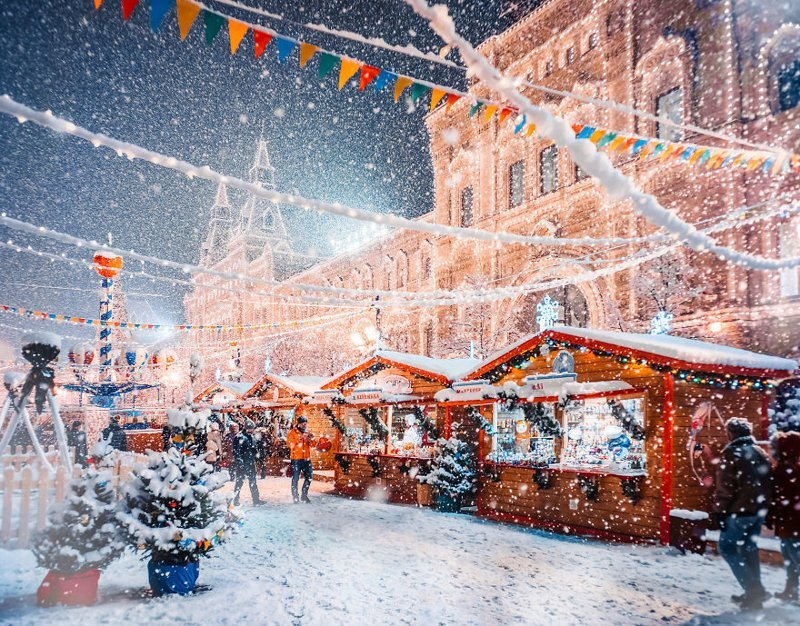 7. достопримечательность, зима, кристина макеева, москва, сказка, снег, фотография, фотомир
