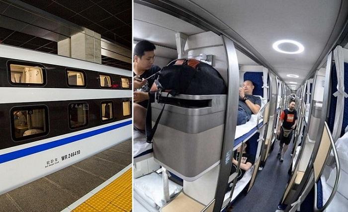 Китайский плацкартный вагон, которому наши соотечественники только позавидуют