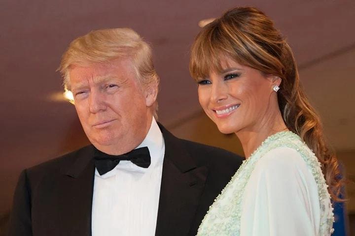 Прическа как у жены трампа