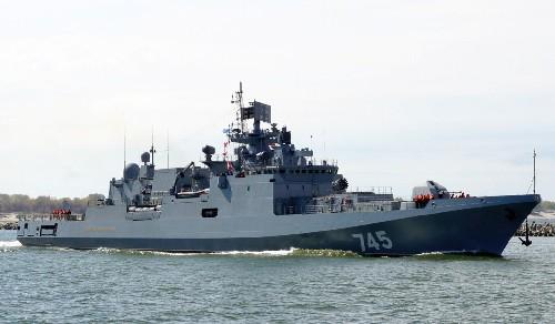 Фрегат «Адмирал Григорович», оснащенный крылатыми ракетами, направился к берегам Сирии
