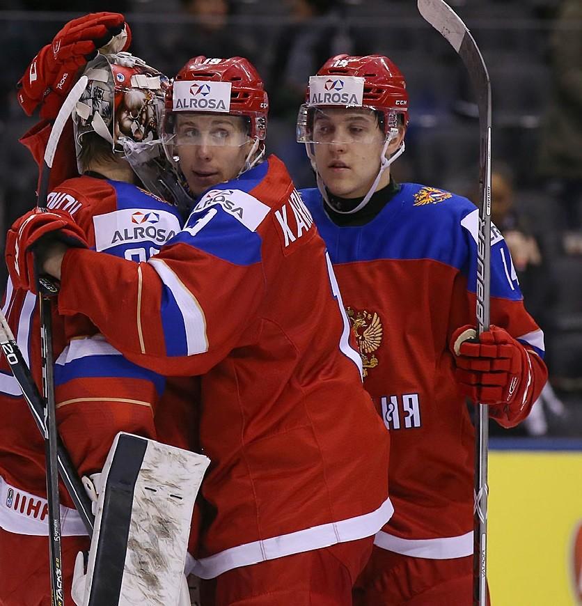 Навстречу реваншу: Россия обыграла Данию и ждёт США в полуфинале молодёжного ЧМ по хоккею