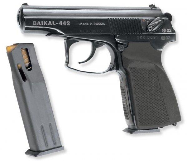 пистолет Baikal-442