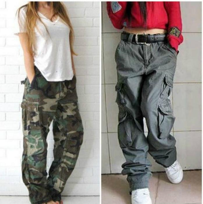 Широкие штаны с карманами.   Фото: modnaya-krasivaya.ru.