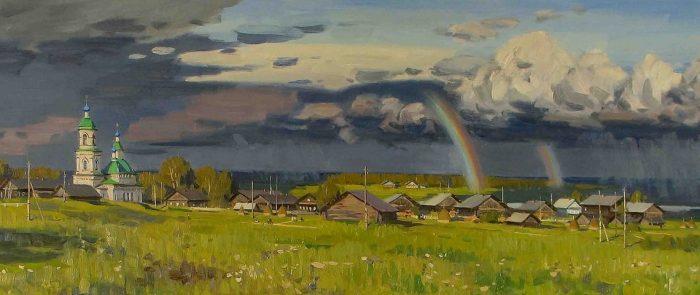 художник Евгений Борисович Молев картины – 14