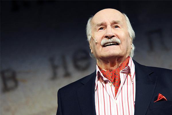 Умер старейший в мире актер Владимир Зельдин