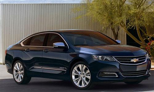 GM представил битопливный Chevrolet Impala