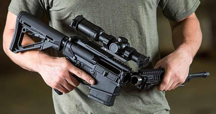 Складная штурмовая винтовка XAR Invicta