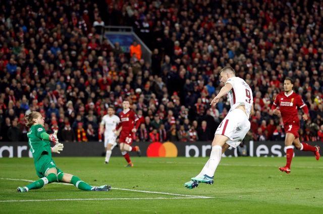 «Ливерпуль» разгромил «Рому» в первом полуфинале Лиги чемпионов
