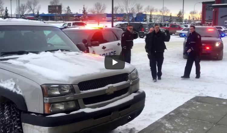 Суровая расправа над угонщиком (как действует полиция Канады)