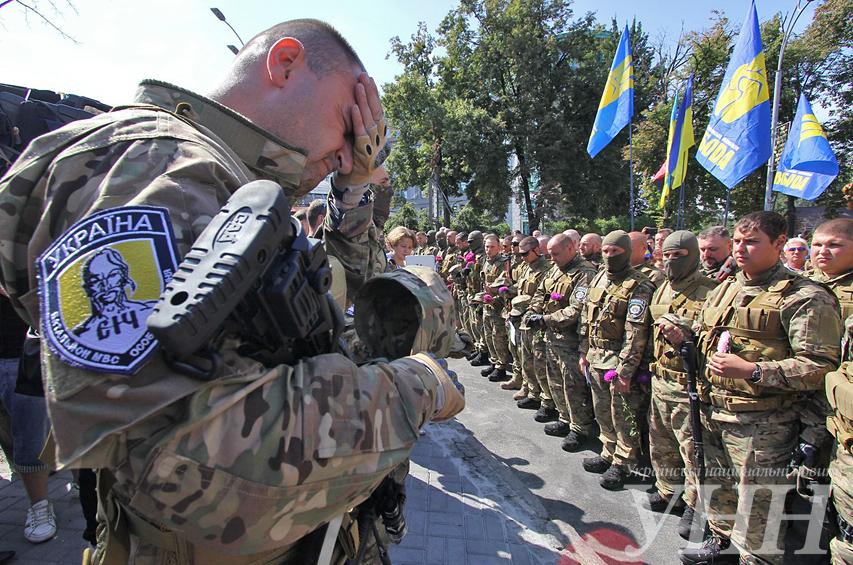 В Славянске уничтожен каратель из батальона «Сич»