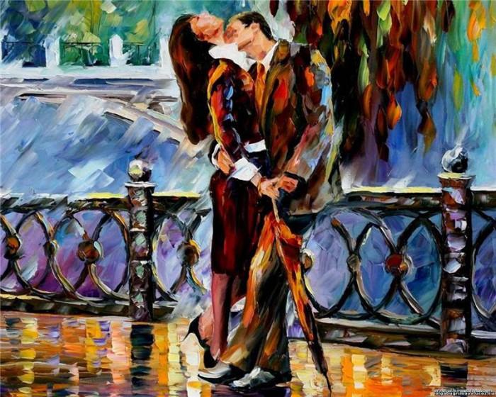 Осторожно любовь. Любовь в картинах художников