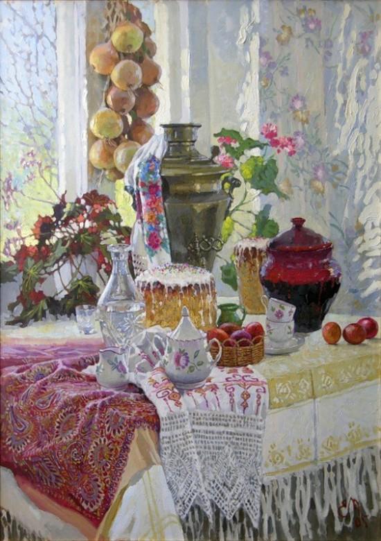 натюрморты художник Евгений Муковнин - 10