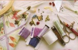 Материалы и инстументы для объемной вышивки