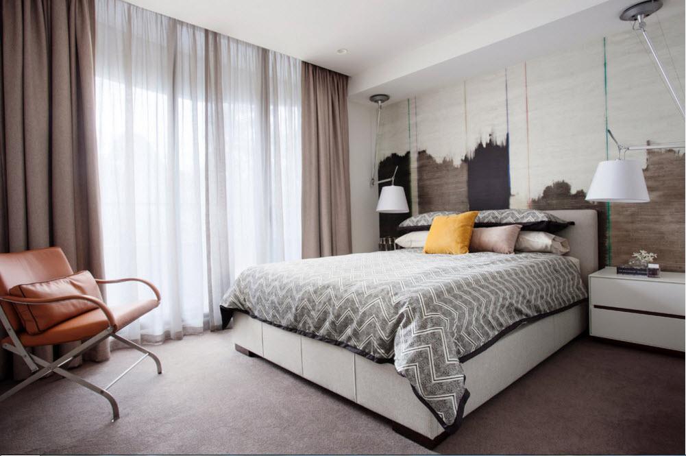 Спальня в светлой цветовой гамме