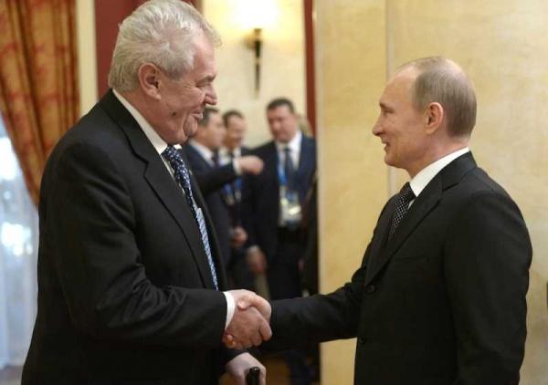 ВСочи состоится встреча президентов России иЧехии