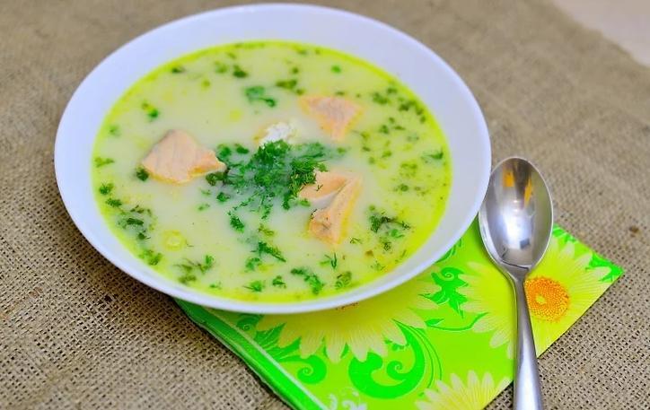 Финский суп с лососем и сливками: рецепт с фото