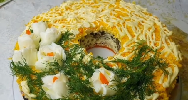 Рецепт цыганского мясного салата