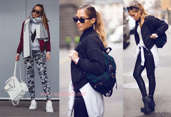 С чем носить рюкзак зимой и летом?