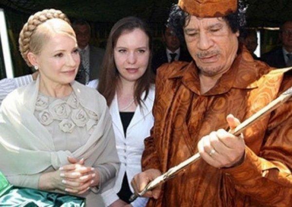 Каддафи - спонсор Батькивщины? Тимошенко предупредили «арабским компроматом»