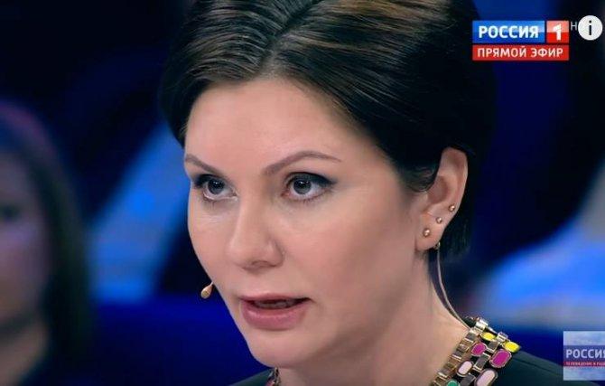 Украинка Бондаренко поплатилась за неосторожную речь в эфире российского ТВ