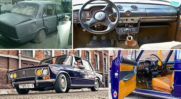 Как советский автохлам превратить в олдтаймер ценой 5 тысяч евро